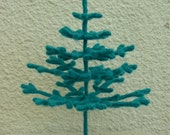 Original Crochet 3D Christmas Tree Pattern-designer Christmas tree-crochet Christmas tree-Christmas patterns-Christmas decoration ornament