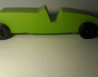Handcrafted Wood Toy Car #26
