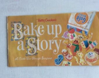 Vintage Betty Crocker's Bake Up a Story Recipe Booklet
