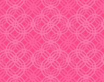 Hot Topics Geo Pink Fabric From Quilting Treasures By the Yard