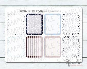 ECLP Pattern full box stickers -B494