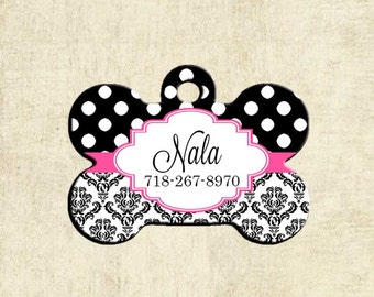 Personalized Pet Tag - Custom Dog Tag - Dog ID Tag - Custom Dog ID Tag