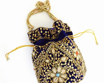 Beautiful Potli Drawstring Handbag