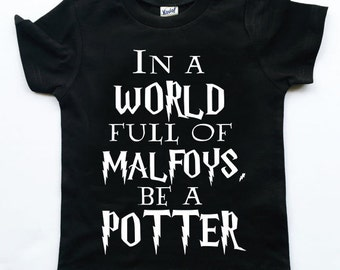 Be a Potter tee for infants, toddlers, children