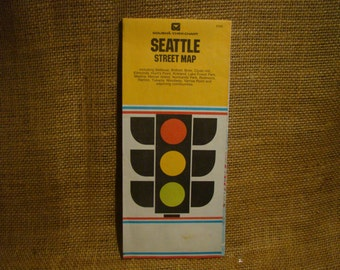 Vintage Map of Seattle