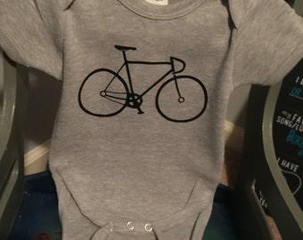 Boys Bicycle Onesie