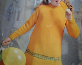 vintage girls dress pattern