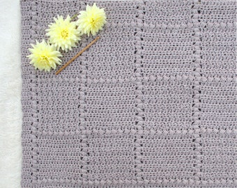 Baby Blanket Pattern New Baby Crochet Pattern Baby Afghan Pattern Newborn Crochet Blanket Pattern DIY Gift for Baby - Nursery Patch P125