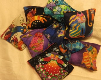 Laurel Burch Catnip 5 for 10 Bucks FREE SHIPPING Toys are not filled with catnip until the DAY you order! Cat Lover Gift