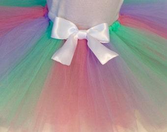pink purple mint baby tutu, Easter tutu, Spring tutu, purple tutu, infant tutu, pink tutu, mint tutu, baby tutu, pastel baby tutu