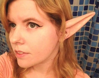 custom painted long latex elf ears