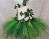 Adult Ivy Leaf Costume, Green Leaf, Garden Fairy, Wood Nymph, Cosplay, Dress Up, Halloween, Party