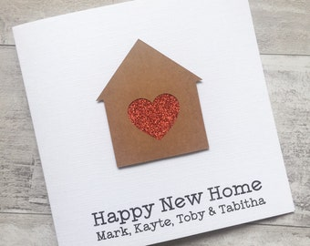New Home, First House, New Home Card, Moving House, New House, Moving Card, New Home Gift, House Warming Gift, First Home