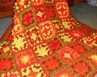 Shades of Autumn Afghan