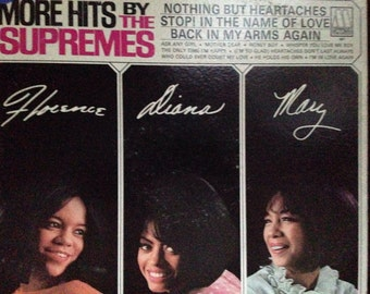More Hits by the Supremes - vinyl record