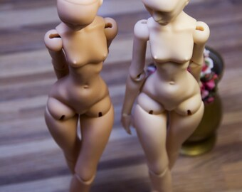 Two 21 cm OOAK bjd resin girl. Ball jointed doll from Ancient Tales. Free shipping!