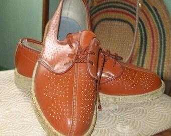 French 1940s/50s original shoes szie 7-slim fit
