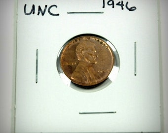 1946 Lincoln Cent Wheat Penny BU