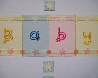 New Baby Handmade CARD