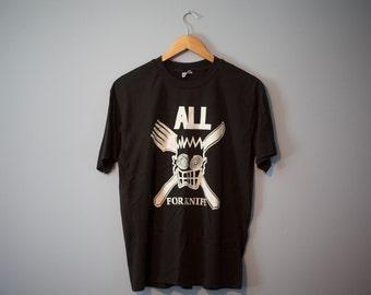 Original ALL Forknife T Shirt Stedman Descendents Vintage Punk Rock Late 80s
