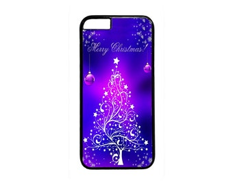 Christmas Tree New Pattern Design Case Cover for iPhone 4 4s 5 5s  5C 6 6s 6 Plus 7 7 Plus iPod Touch 4 5 6 case Cover
