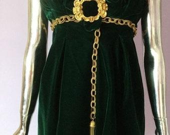 dress of velvet Dolce Gabbana