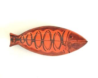 Mid Century Italian Ceramic Fish