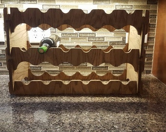 3 Tier Wine  Bottle Holder