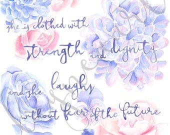 Proverbs 31 Quote Painting