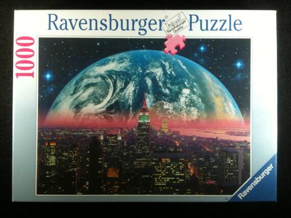 Vintage Jigsaw Puzzle 1996 Ravensburger Earthrise Jigsaw