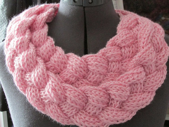 Double Layered Braided Cowl Braided Cowl Crochet Cowl