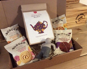 Hand Selected Superb Quality Loose Tea 100g with a choice of 7 Teas Gift Set including Mr T Infuser