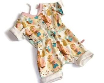 Rompers, overalls, Bodysuit, summer, Sommerstrampler, baby, girl, girl, size 62 68
