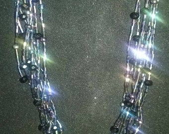 Beautiful and Bold Multi-Strand Necklace