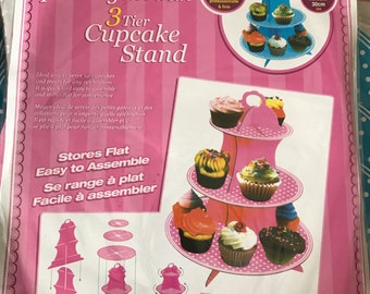 Paper Cupcake stand for party muffin sweet corner