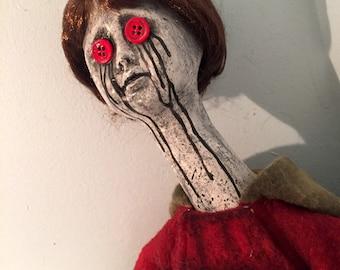"""Creepy Horror Doll """"Hopeless Harry"""""""