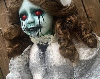 "Creepy 24"" Large Horror Doll ""Annabel Lee"""