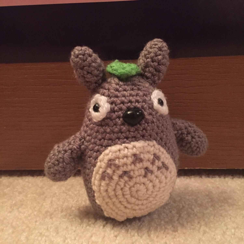 Totoro Amigurumi Lanas Y Ovillos : Totoro Amigurumi