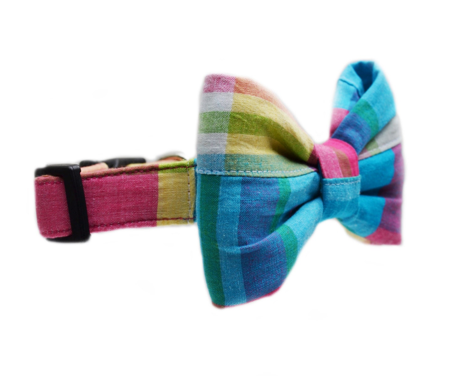 Madras Dog Collar