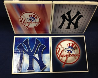 New York Yankees Coasters (set of 4)
