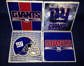 New York Giants Coasters (set of 4)