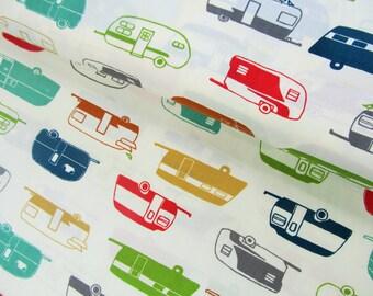 Just For Fun - Camper Rally Multi - Birch Organic Fabrics