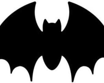 Halloween Bat SVG Cut File