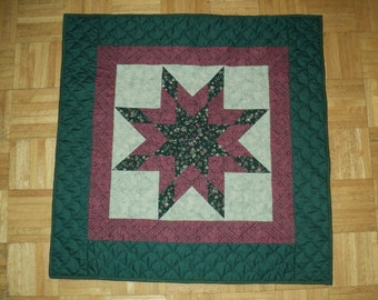 """Baby Quilt/Art quilt FREE SHIPPING 34""""square"""