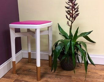 Refurbished vintage stool