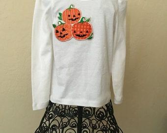 Pumpkin shirt Size 4t Cute pumpkin shirt cute halloween shirt toddler halloween shirt