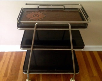 Vintage Cosco Cart With Hot Top