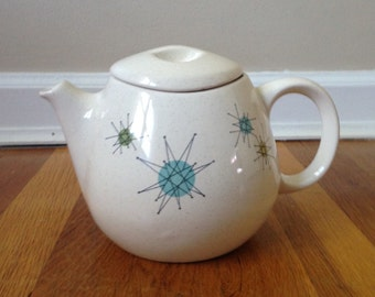 Franciscan Pottery Atomic Starburst Tea Pot