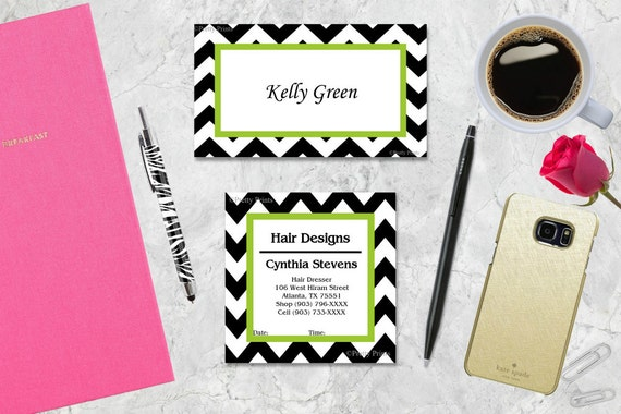 Personalized Gift Tags, Chevron Gift Tags, Business Cards, Calling Cards, Appointment Cards, Personalized Stationery, Personalized Cards
