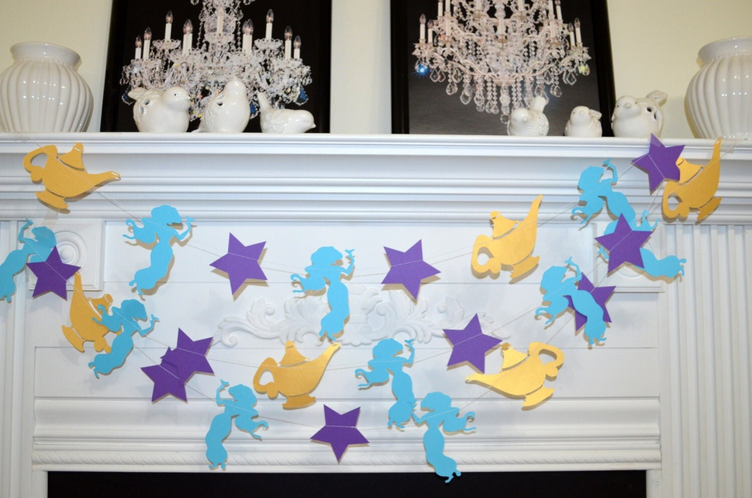 Princess jasmine birthday party decor aladdin magic lamp for Aladdin decoration ideas